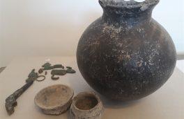 کشف اشیای تاریخی با قدمت هزاره اول قبل از میلاد در سراب