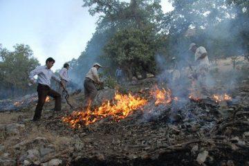 پیشگیری از آتش سوزی در مراتع و جنگل های آذربایجان شرقی