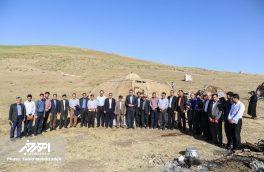 دیدار فرماندار شهرستان اهر با عشایر در ییلاق آتمیانلو (باللی قشلاقی)