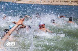 مسابقات استانی شنای آبهای آزاد به مناسبت هفته مبارزه با مواد مخدر در اهر