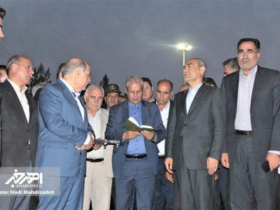 حضور وزیر تعاون، کار و رفاه اجتماعی در اهر و آئین کلنگ زنی خانه امید بازنشستگان