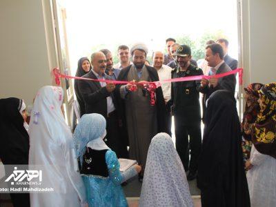 آئین افتتاح نمایشگاه حجاب و عفاف «حریم ریحانه» در اهر