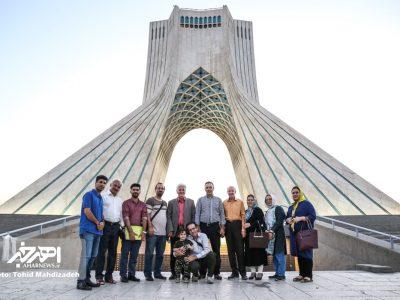 گرده همایی قره داغی های مقیم تهران در برج آزادی و تبادل نظر در خصوص جشنواره تئاتر کوتاه ارسباران