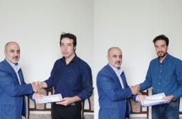 از خبرنگاران فعال در حوزه ایثار و شهادت شهرستان اهر تجلیل شد