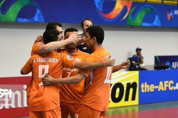 تداوم پیروزی های تیم فوتسال مس سونگون در مسابقات قهرمانی باشگاه های آسیا با برتری مقابل بانک بیروت لبنان