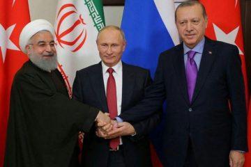 برگزاری نشست سران کشور های ایران، ترکیه و روسیه در تبریز