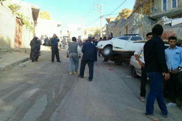 پیکان سه نفر را در روستای اندریان ورزقان زیر گرفت