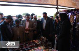 افتتاحیه هشتمین جشنواره ملی ورنی و نمایشگاه صنایع دستی و عشایری اهر