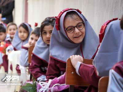 جشن شکوفه ها به مناسبت آغاز سال تحصیلی جدید در اهر
