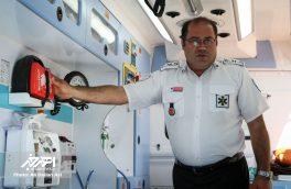 انجام ۱۴۷۲ مأموریت درون و برون شهری توسط مرکز فوریت های پزشکی اهر طی سال جاری