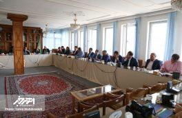 نشست خبری فرماندار و روئسای ادارات با خبرنگاران به مناسبت هفته دولت