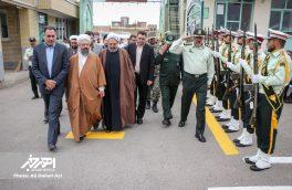 صبحگاه مشترک نیروهای مسلح به مناسبت آغاز هفته ناجا در اهر