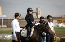 دومین جشنواره سوارکاری جانبازان و افراد دارای معلولیت کشور (پارادرساژ) در اهر