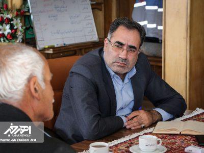 دیدار مردمی فرماندار شهرستان اهر (۲۵ مهر ۱۳۹۷)