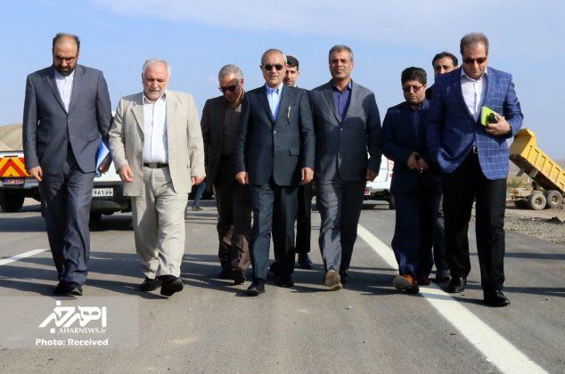 دوازدهمین بازدید استاندار آذربایجان شرقی از بزرگراه اهر – هریس – تبریز