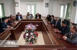 نشست مدیر مجتمع مس سونگون آذربایجان با اعضای شورای اسلامی شهر اهر