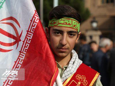راهپیمایی ۱۳ آبان ۱۳۹۷ در اهر (۲)