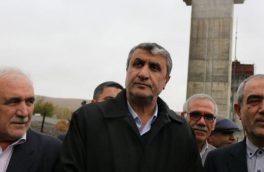 بازدید وزیر جدید راه و شهرسازی از بزرگراه در حال ساخت اهر – تبریز