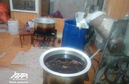 پلمب کارگاه تولید عسل تقلبی در اهر + تصاویر اختصاصی