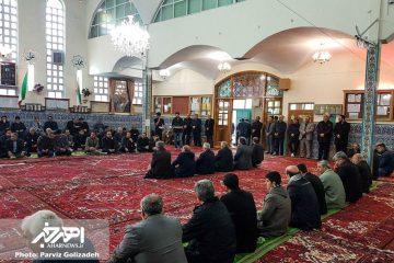 مراسم یادبود استاد حسین محب اهری در اهر برگزار شد + تصاویر
