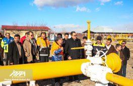 بازدید فرماندار و اعضای ستاد مدیریت بحران شهرستان اهر از ایستگاه های تقلیل فشار گاز
