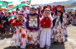 مراسم عشایری جشن انقلاب در روستای باللی قشلاق شهرستان اهر