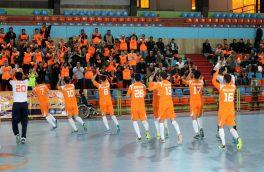 صعود تیم فوتسال مس سونگون به فینال لیگ برتر
