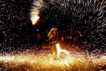 مصدومیت ۱۶ نفر در اهر طی حوادث چهارشنبه آخر سال ۱۳۹۷ / کاهش ۲۳ درصدی مصدومین چهارشنبه آخر سال استان آذربایجان شرقی