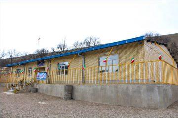 دبستان ۶ کلاسه شهدای بانک سپه روستای افیل اهر افتتاح شد
