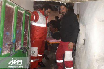 نجات ۲ نفر مصدوم سوختگی در روستای برازین ورزقان پس از ۱۰ ساعت تلاش عوامل مدیریت بحران شهرستان اهر + تصاویر