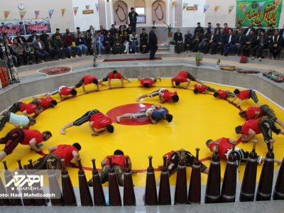 جشن میلاد امام زمان (عج) در سالن ورزش های پهلوانی و زورخانه ای اهر