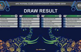 حریفان مس سونگون در جام باشگاه های آسیا مشخص شدند / هم گروهی لاله های نارنجی با پرافتخارترین تیم مسابقات