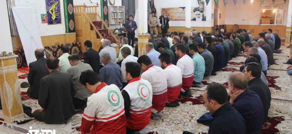 مراسم بزرگداشت سی امین سالگرد ارتحال امام خمینی (ره) در روستای نقدوز شهرستان اهر