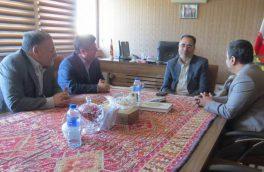 مدیرکل زندان های آذربایجان شرقی با فرماندار شهرستان اهر دیدار کرد