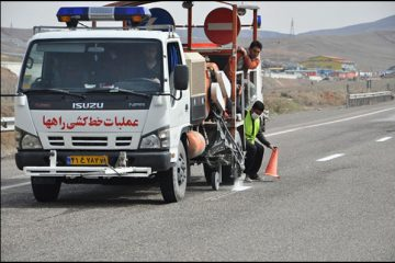 بیش از یک هزار کیلومتر راه در آذربایجان شرقی خط کشی شد