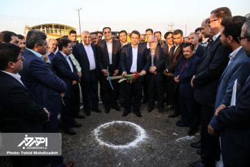 مجتمع فولاد نگین اهر با حضور وزیر صنعت، معدن و تجارت کلنگ زنی شد