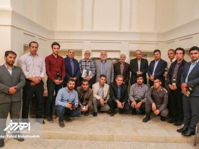 نشست نماینده اهر و هریس در مجلس با اصحاب رسانه شهرستان اهر به مناسبت روز خبرنگار