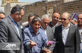 بهره برداری از فاز ۲ طرح هادی روستای چشمه وزان شهرستان اهر