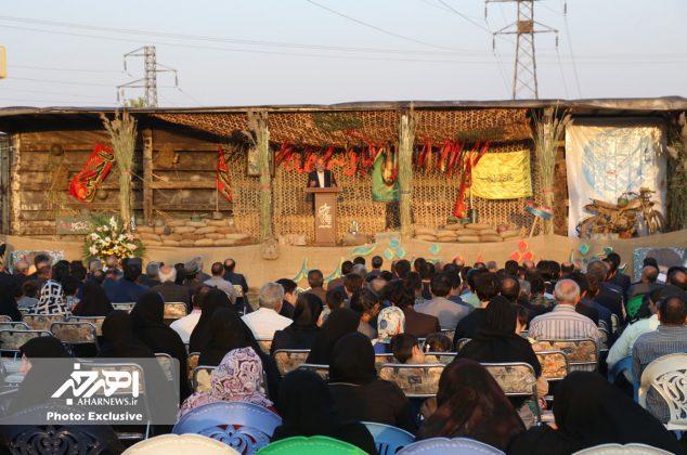 یادواره شهدای آبروی محله و بزرگداشت پاسدار شهید علی حسین همت جو به مناسبت هفته دفاع مقدس