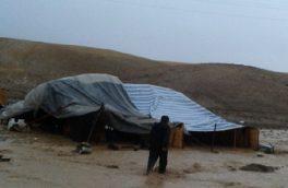 خسارت بارش های رگباری به ۲۳ خانوار در روستاهای عشایر نشین اهر