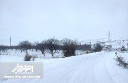 راه ۴۰ روستای اهر بسته است