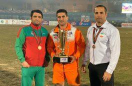 تیم ملی کبدی ایران سوم جهان شد