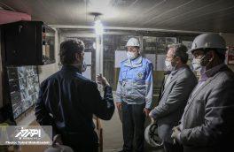 حضور فرماندار شهرستان اهر در معدن مس مزرعه به مناسبت روز جهانی کار و کارگر
