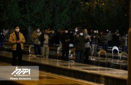 مراسم احیاء شب بیست و یکم ماه مبارک رمضان در گلزار شهدای اهر