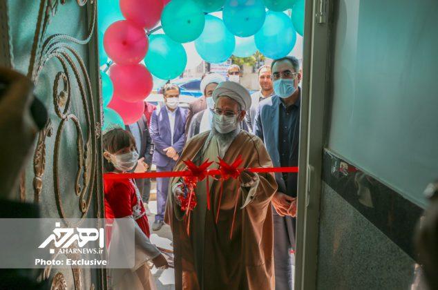 آئین افتتاح درمانگاه شبانه روزی روز سالم در اهر