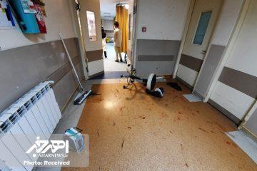 درگیری در اورژانس بیمارستان باقرالعلوم (ع) اهر / ضرب و شتم ۵ نفر از کادر بیمارستان