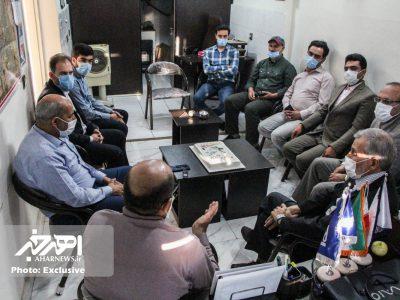 دورهمی خبرنگاران در دفتر اهر خبر