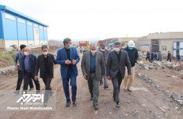 مدیرعامل شرکت ملی مس ایران از کارخانه آهک اهر بازدید کرد