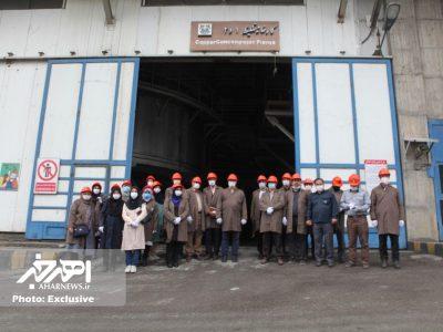 بازدید جمعی از سرپرستان خبرگزاری ها، خبرنگاران و فعالان رسانه ای آذربایجان شرقی از مجتمع مس سونگون