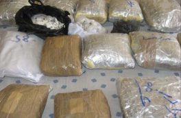 کشف ۷۱۱ کیلوگرم موادمخدر طی عملیات مشترک پلیس آذربایجان شرقی و کرمان